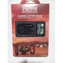 Baterie si incarcator Litiu-polimer pentru Parrot minidrone
