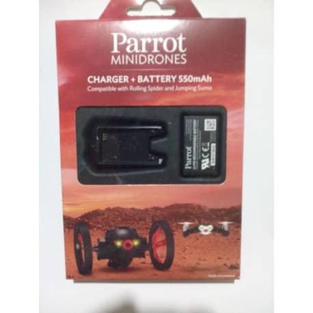 Baterie Litiu-Ion polimer pentru Parrot minidrone cu incarcator