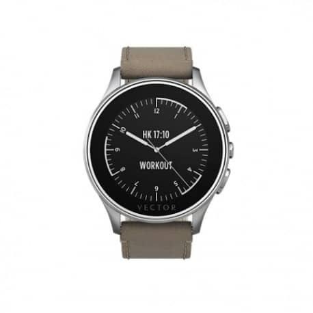 Smartwatch Vector Luna, Curea Piele