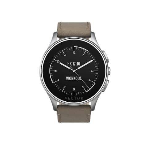 Smartwatch Vector Luna  Curea Piele