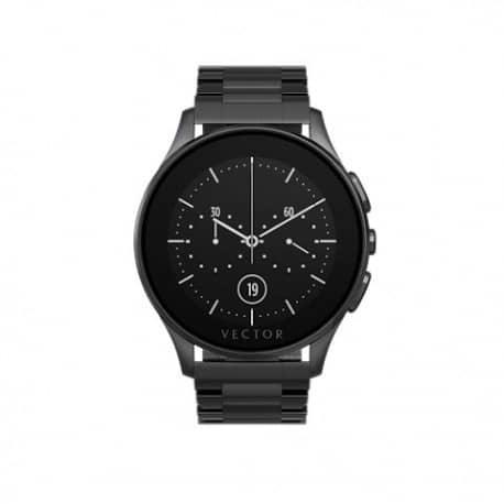 Smartwatch Vector Luna, Bratara metalica