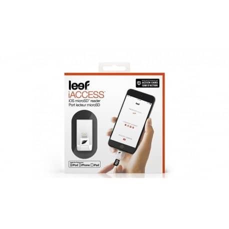 Cititor de carduri Leef iAccess IOS, micro SD, conector Lightning
