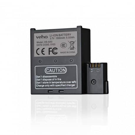 Baterie de rezerva pentru Camera Muvi K-Series handsfree