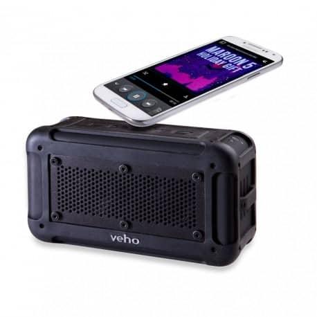 RESIGILATE - Boxa portabila wireless Veho Vecto rezistenta la apa cu NFC