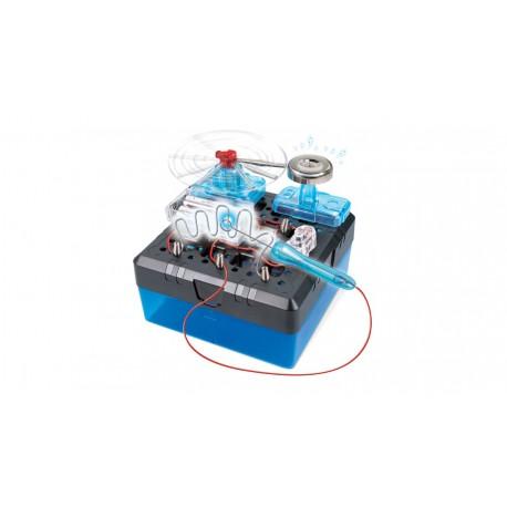 Jucarie inteligenta STEM, Laboratorul electronic