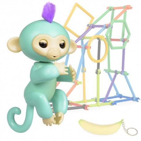 Jucarie interactiva Happy Finger Monkey
