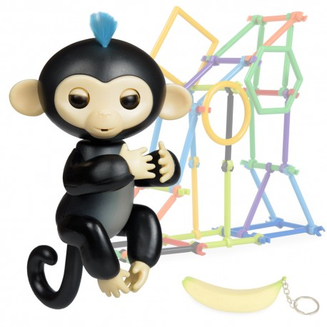 Jucarie interactiva Happy Finger Monkey