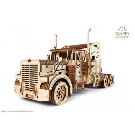 Puzzle mecanic 3D lemn Ugears Camion VM-03