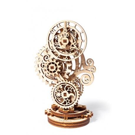 Puzzle mecanic 3D lemn Ugears Ceas Steampunk