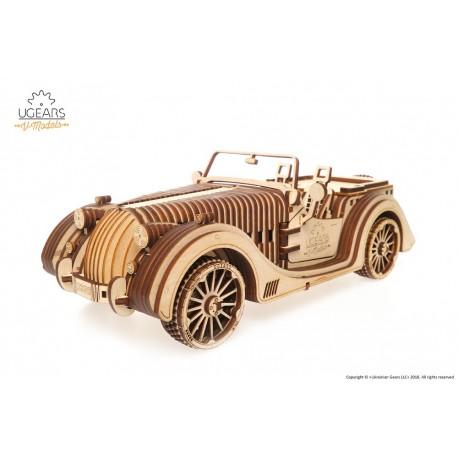 Puzzle mecanic 3D lemn Ugears Roadster VM-01