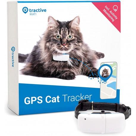 Dispozitiv localizare GPS pentru pisici Tractive IKATI