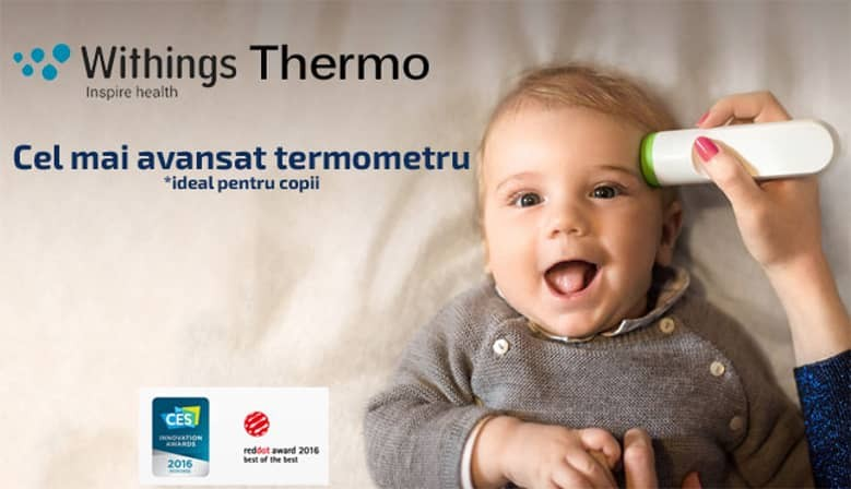 Termometru smart wireless Withings Thermo